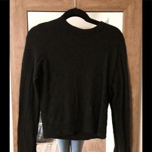 Vince Cashmere Cropped Crewneck Sweater